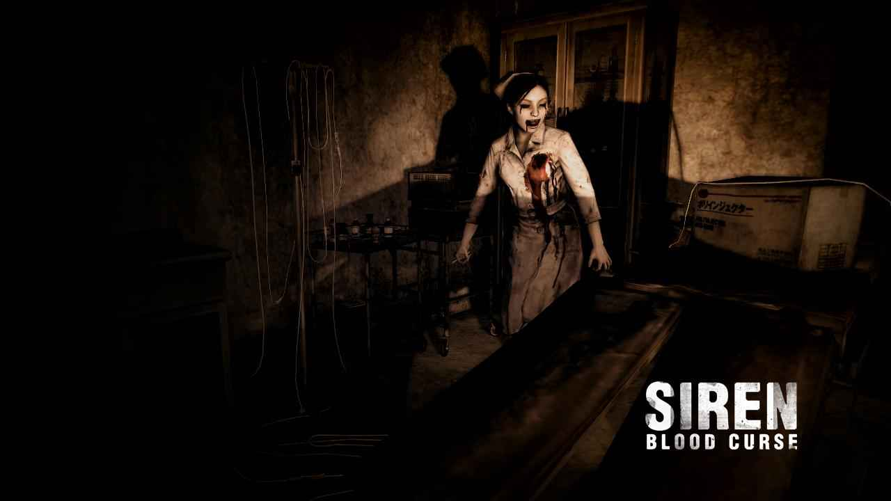 Dead Nurse from Siren the game