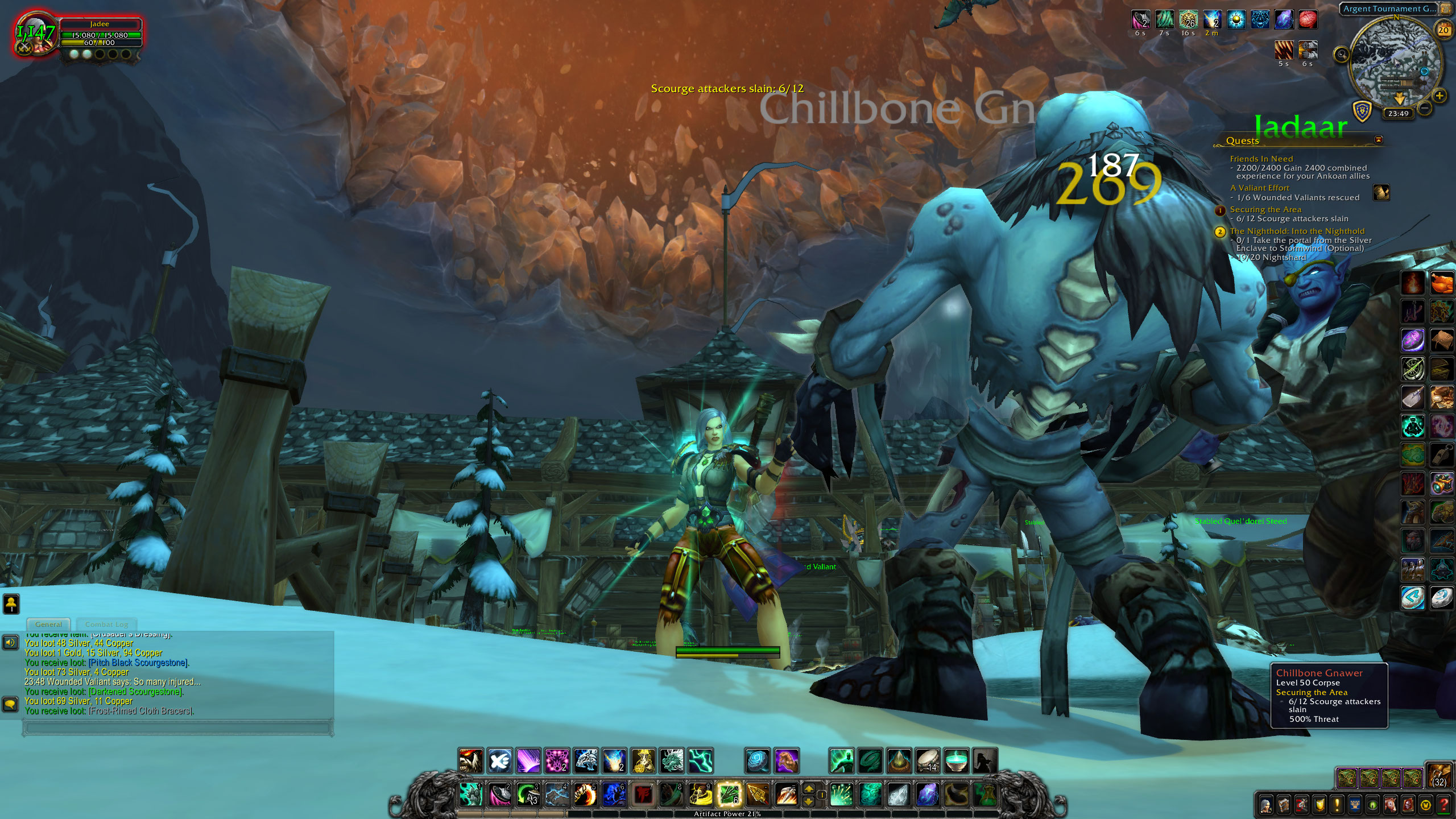 Scourge v Icecrown