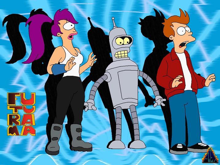 Futurama – Sezóna 1 – Část 5.: Fear Of A Bot Planet – Strach z planety robotů