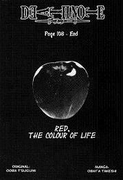 Death Note – Volume 12 – Chapter 108: Konec