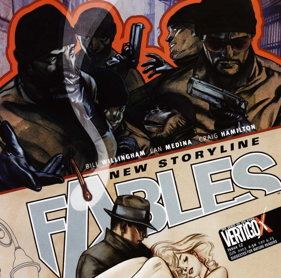 Fables – Chapter #12: A Sharp Operation (Two-part Caper)