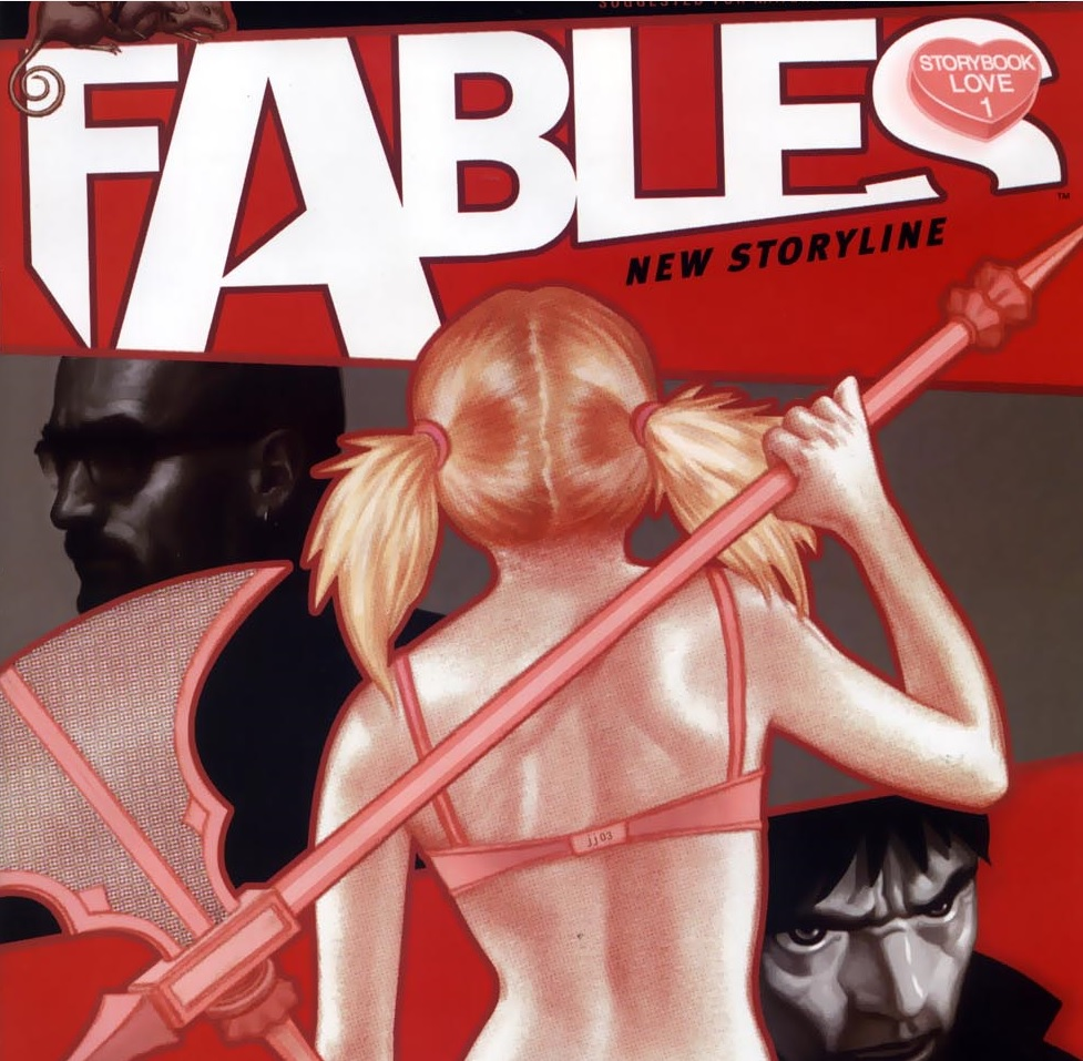 Fables – Chapter #14: The Mouse Police Never Sleep (Storybook Love)