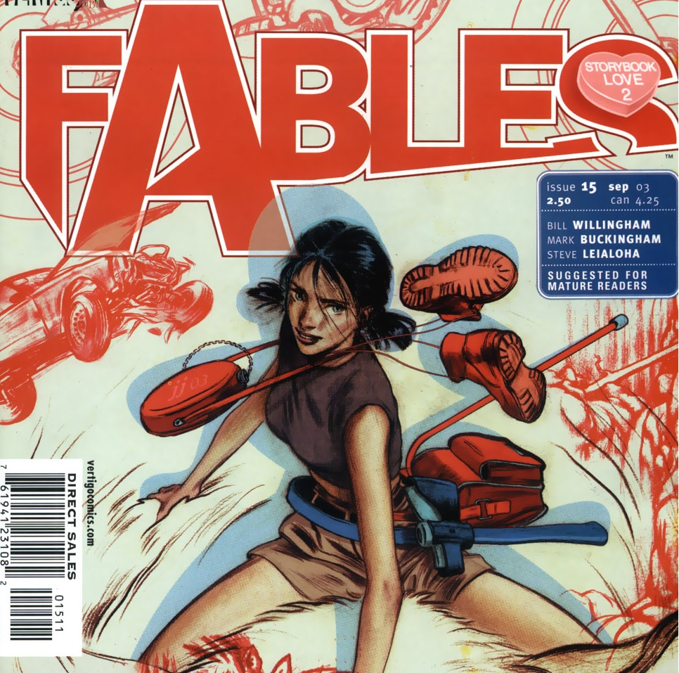 Fables – Chapter #15: Into the Woods (Storybook Love)
