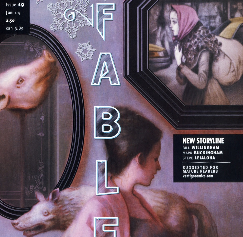 Fables – Chapter #19: Out of the Woods (March of the Wooden Soldiers)