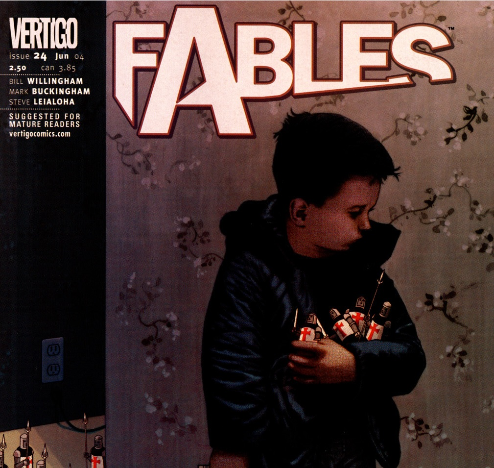 Fables – Chapter #24: The Letter (March of the Wooden Soldiers)
