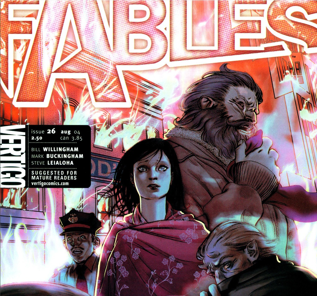 Fables – Chapter #26: The Battle of Fabletown (March of the Wooden Soldiers)