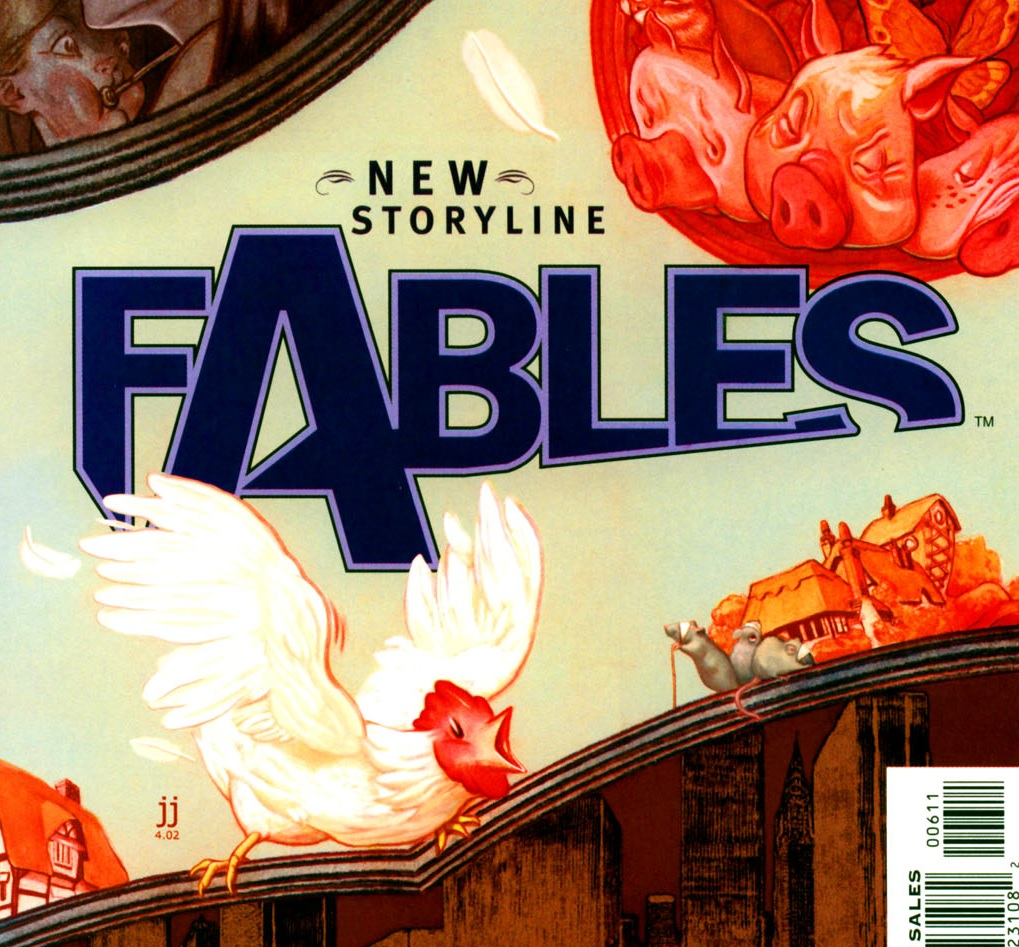Fables – Chapter #6: Road Trip (Animal Farm)
