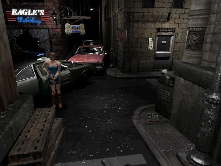 Resident Evil 3: Nemesis – první krůčky