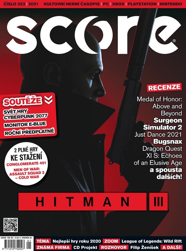 Score 323 and Hitman on cover
