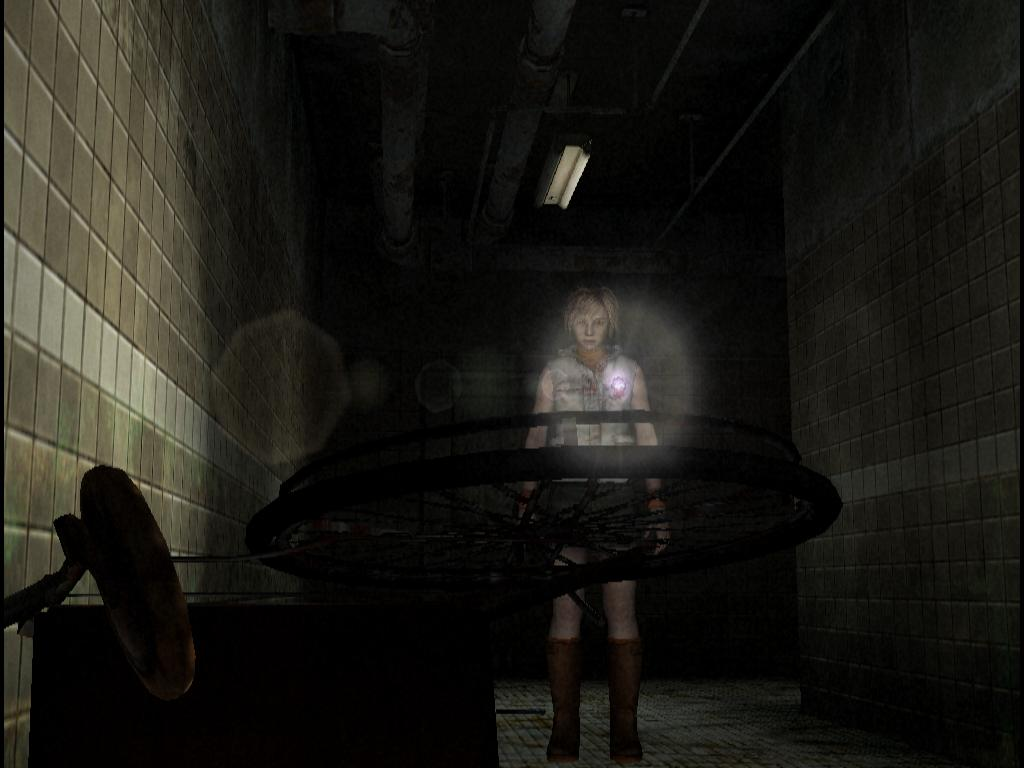 Silent Hill 3 - iconic wheelchair