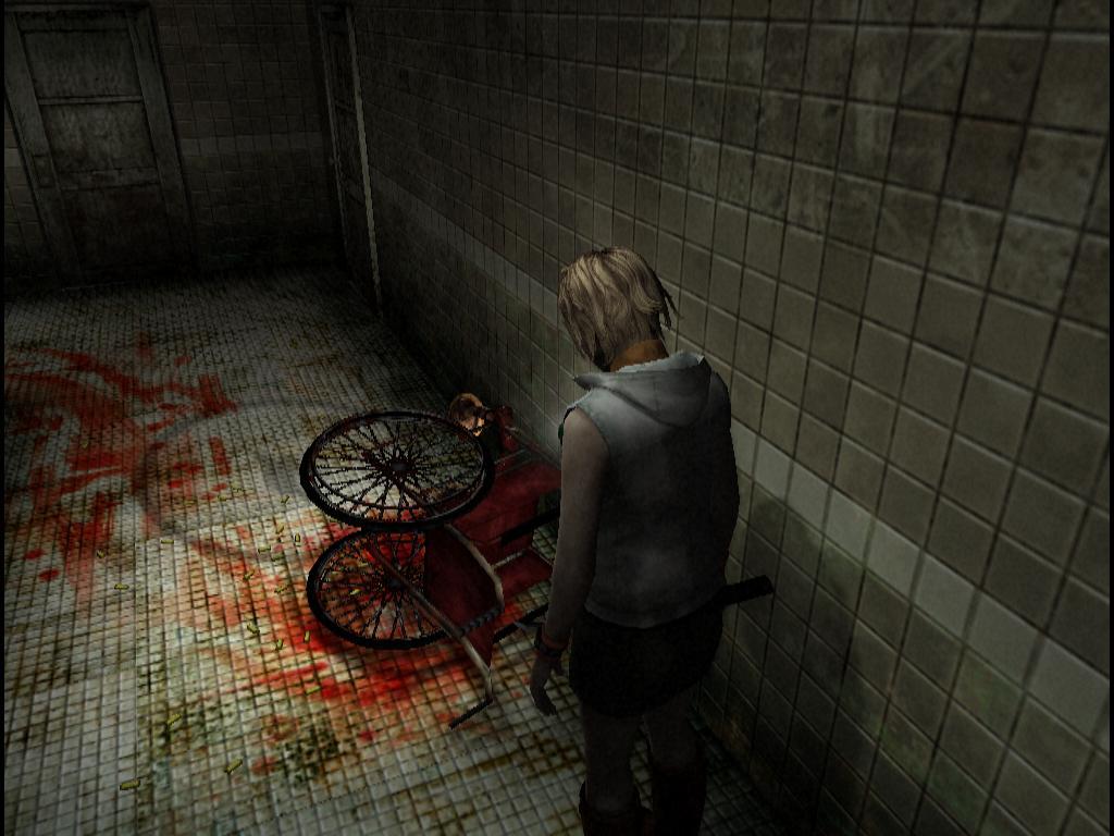 Silent Hill 3 - wheelchair